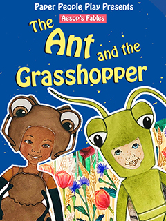 Paper People Play: The Ant And The Grasshopper